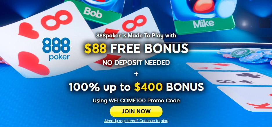 Best online poker sites no money deposit